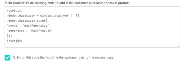 Thrive Main Product Script
